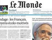 Roundup Le Monde